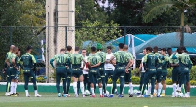 Treino Palmeiras