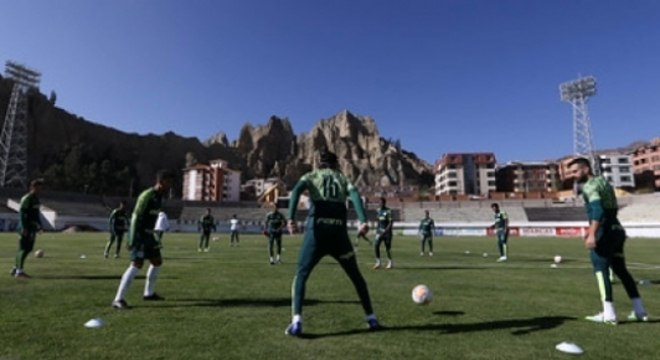 Treino Palmeiras La Paz