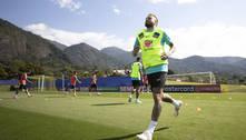 Seleção treina de olho no duelo com Equador pelas Eliminatórias