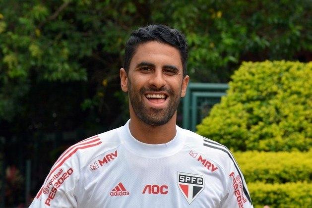Tréllez - Em janeiro de 2018, o atacante colombiano foi contratado pelo São Paulo. após atuar no Vitória.