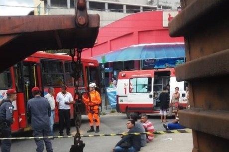 Acidente aconteceu em Betim, na Grande BH
