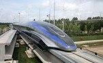 China apresenta trem que alcança a velocidade de 600 km/h