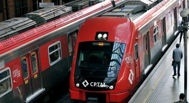 A CPTM realizará obras em cinco de suas sete linhas neste final de semana