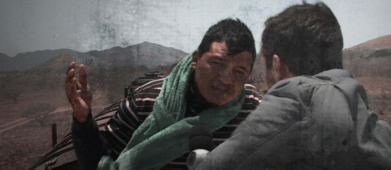 Repórter conversou com um dos migrantes que encarou a travessia