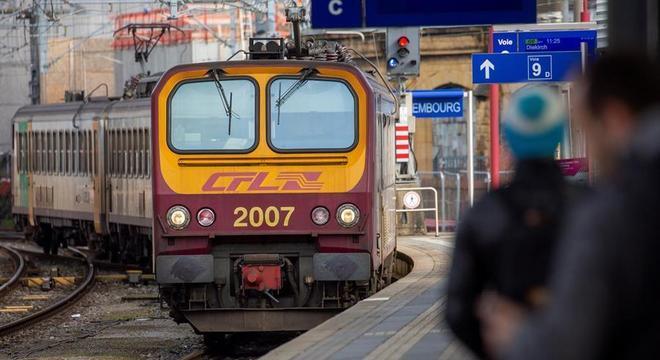 Viagens de trem, ônibus e bonde dentro de Luxemburgo serão gratuitas