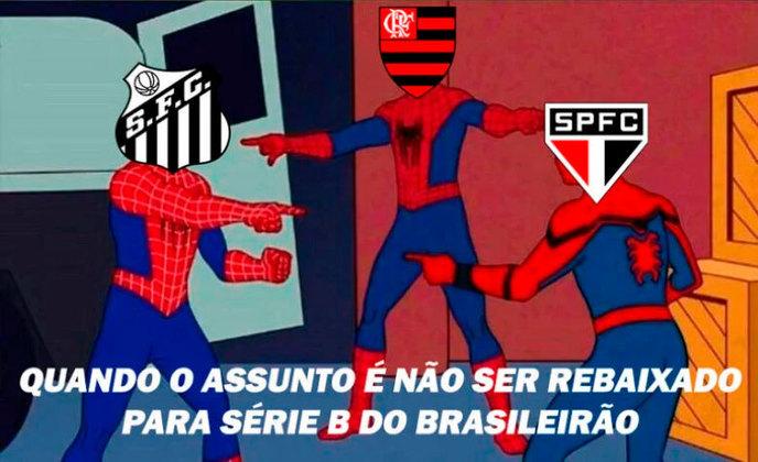 Três clubes brasileiros ainda tiram onda por nunca terem caído para Série B: Flamengo, Santos e São Paulo