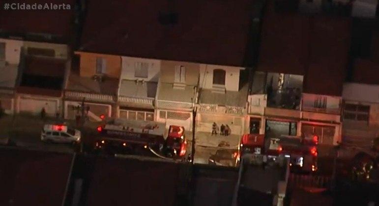 Três crianças morrem em incêndio em SP
