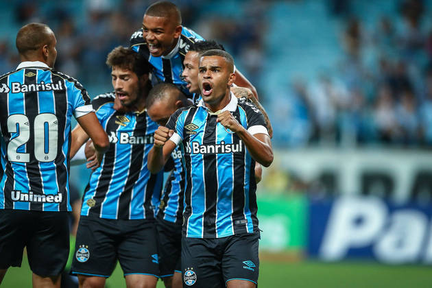 Tri-campeão e presente nas últimas três semifinais, o Grêmio também apareceu 11 vezes entre os favoritos para ganhar o título da Libertadores.
