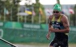TRIATLO: Único representante brasileiro no triatlo masculino, Manoel Messias não conseguiu repetir o bom desempenho de Rio 2016, em que ficou em oitavo lugar, e terminou a prova deste domingo em 28º. O atleta começou mal e chegou a ficar em último lugar, mas conseguiu se recuperar