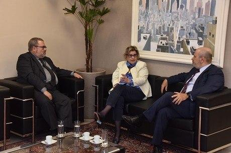 Telmo Flor, Vania Cunha Mattos e Luiz Cláudio Costa