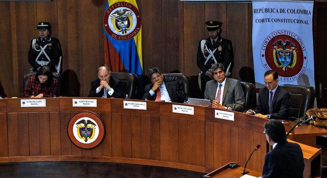 A última palavra será, mais uma vez, do Tribunal Constitucional da Colômbia