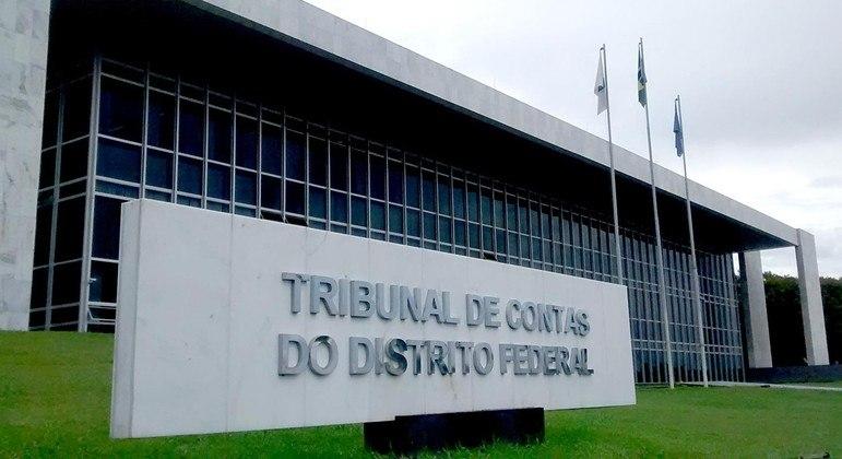 Fachada do TCDF, que arquivou denúncias de supostas irregularidades em licitação do GDF