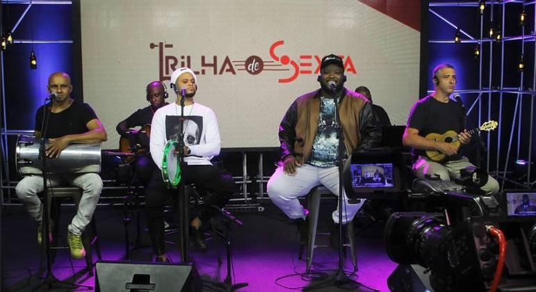 Grupo Exalta participou do Trilha de Sexta no dia 21