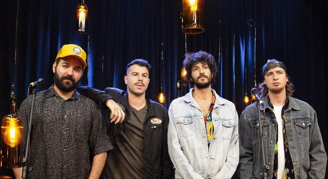 A banda Hotelo participa do quinto programa Trilha de Sexta