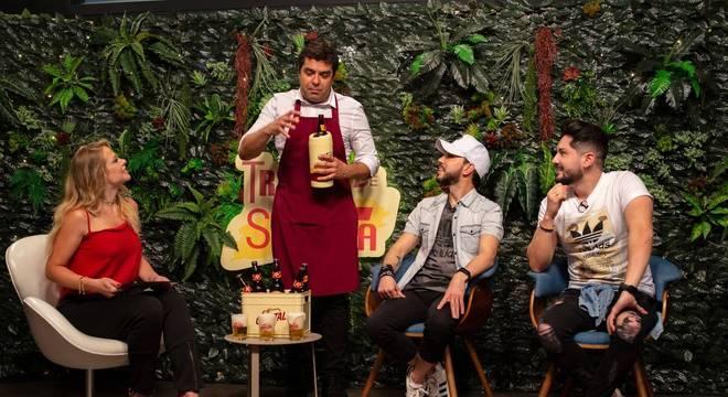 A dupla Sandro & Cícero contam a Jackie Petkovic e Orestes como viraram o fenômeno no TikTok