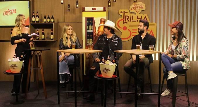 Taís Baetta, Fiduma & Jeca e Sulamita Caetano são os convidados do sexto episódio