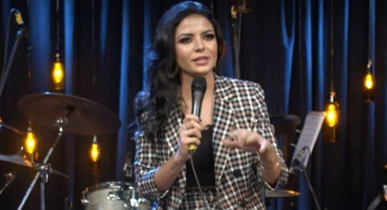 Gabi Fernandes em 2020, na primeira temporada do Trilha de Sexta
