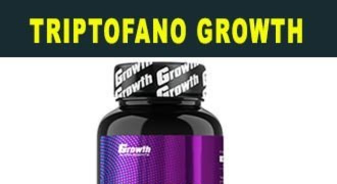 TRIPTOFANO GROWTH SUPPLEMENTS