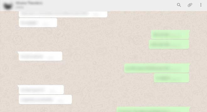 É possível ocultar mensagens, fotos e vídeos enviados a você pelo WhatsApp