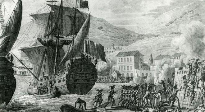 Com tropas experientes e bem armadas diante de milícias locais mal equipadas, Leclerc conseguiu ganhar terreno e, em maio de 1802, ele fez um armistício com Toussaint