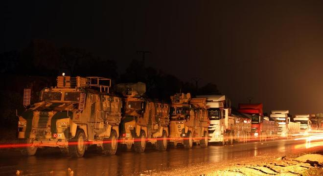Turquia reforçou presença militar em território sírio nos últimos dias