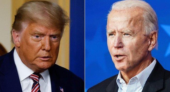Democrata Joe Biden lidera disputa contra republicano Donald Trump