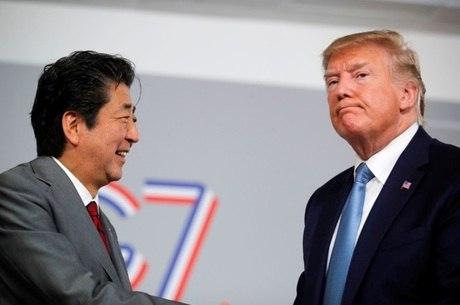 Líderes se reuniram durante a cúpula do G7, na França
