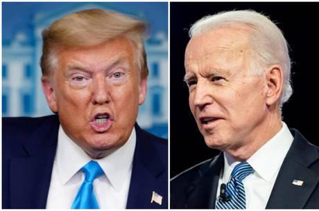 Pesquisas mostram vantagem de Biden sobre Trump