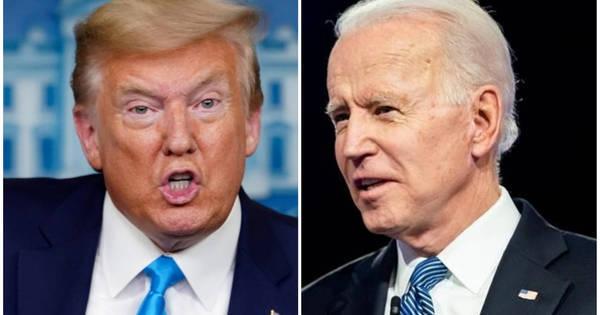 Atrás nas pesquisas, Trump diz que Biden é contra Deus e armas