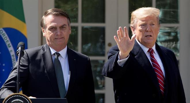 Trump havia prometido apoio em encontro com Bolsonaro