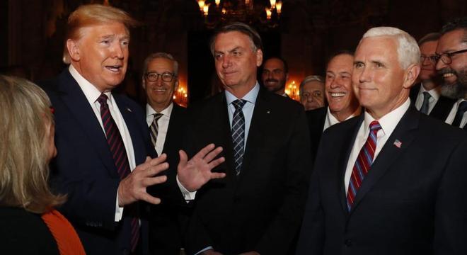 Trump exalta trabalho de Jair Bolsonaro à frente da Presidência do Brasil