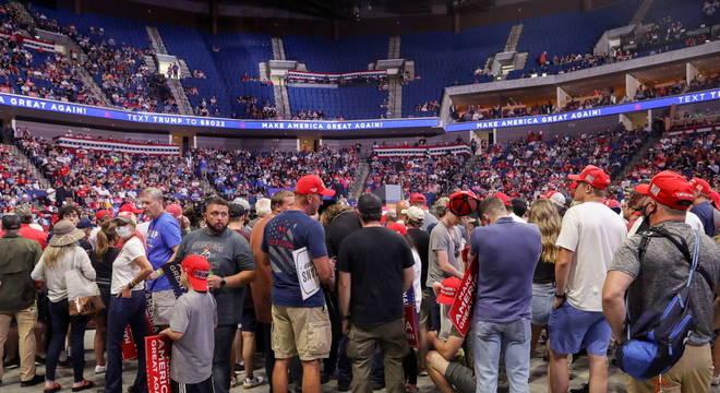 Fracasso de comício de Trump em Tulsa teria levado à demissão