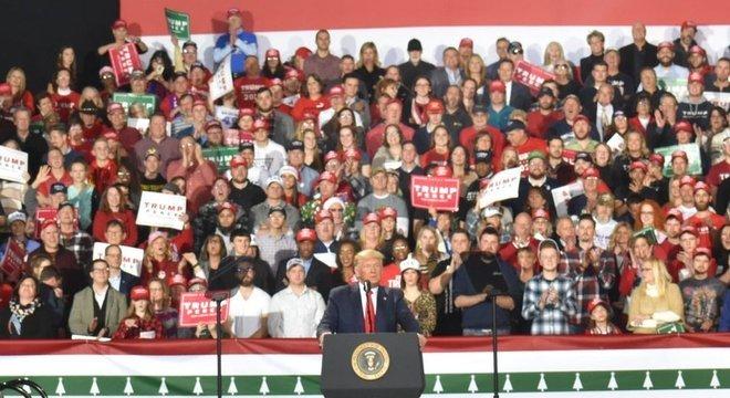 Trump tem sua principal base de apoio entre os eleitores brancos
