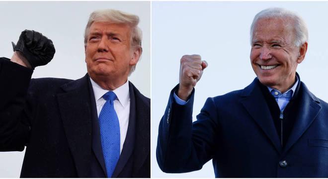 Trump afirmou que vai à Suprema Corte e campanha de Biden reage