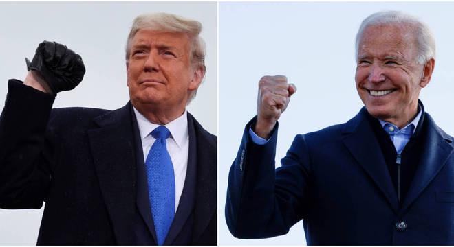 Vantagem de Trump na Pensilvânia cai para menos de 20 mil votos