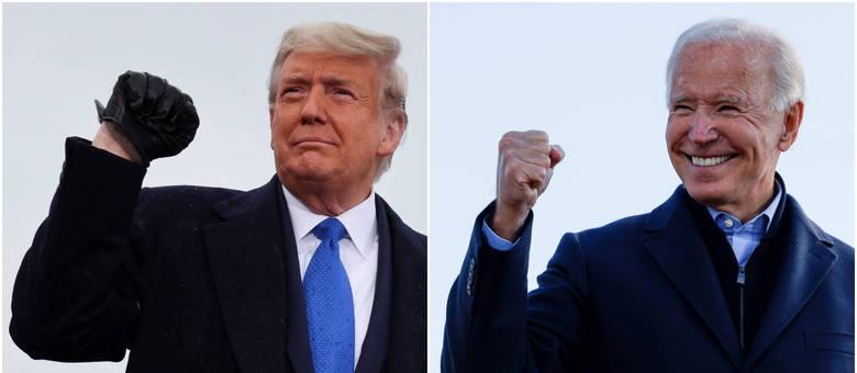 Nas últimas horas, Trump reduziu a vantagem de Biden no Arizona