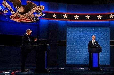 Trump diz que não vai perder tempo com debate virtual