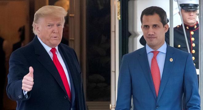 Trump e Guaidó se encontram pela primeira vez