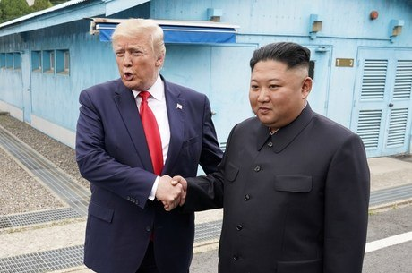 Trump revelou ter recebido uma carta do líder norte-coreano