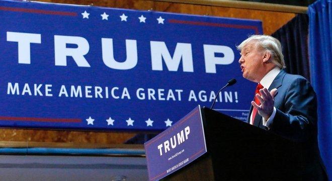 As sobretaxas sobre produtos importados foram uma das promessas de campanha de Trump