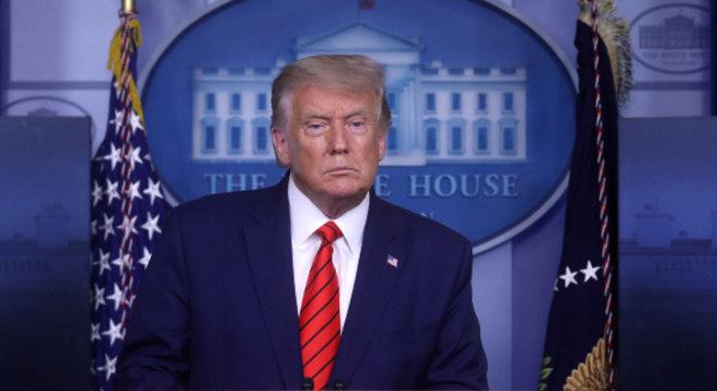 Trump elogiou a Guarda Nacional por ajudar a conter a violência em Kenosha