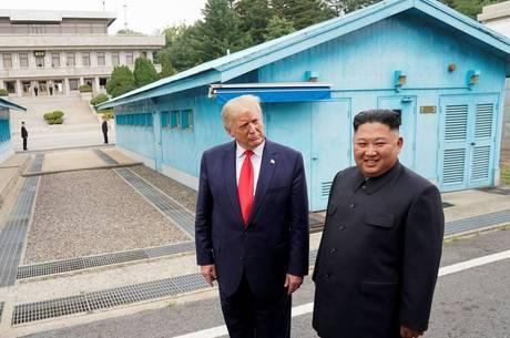 Trump visitou a Coreia do Norte em junho