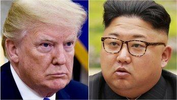__Trump cancelou reunião após área de teste nuclear ser destruída__ (Reprodução)