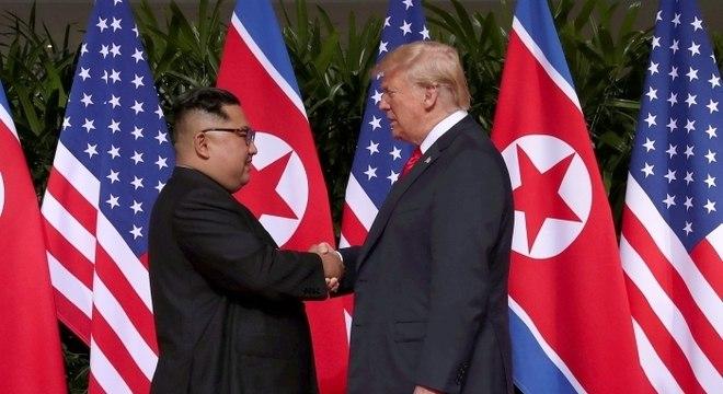 Autoridades discutiram a agenda da segunda cúpula entre Trump e Kim