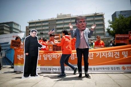 Trump e Kim jong-un se encontrão em Cingapura
