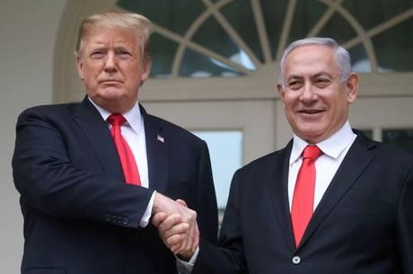 Mudança foi feita após acordo entre Trump e Netanyahu