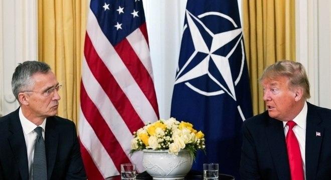 Trump reforçou desavenças na aliança militar