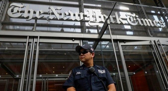 Portal do The New York Times saiu do ar nesta terça-feira