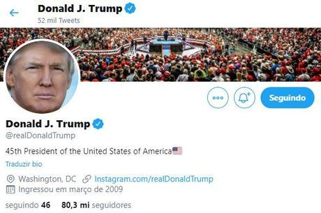Twitter incentiva que usuários chequem informações de Trump