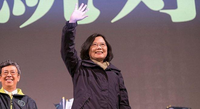 Tsai segue rumo a uma vitória que não será bem recebida em Pequim
